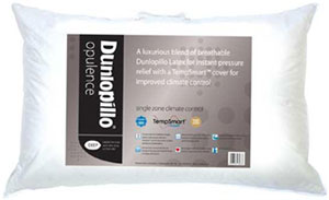 Dunlopillo opulence latex pillow