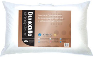Dunlopillo serenity deluxe latex pillow