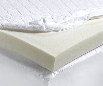 isotonic ultra memory foam twin mattress pad