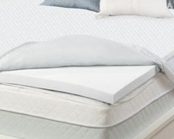 memory foam pillow top mattress pad