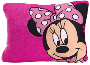 Minnie Toddler Pillow