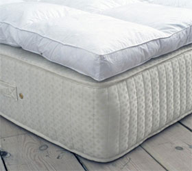 pillow top mattress pad image